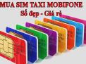 Khởi đầu thành công cùng sim taxi ABC Mobifone tại KHOSIM24H