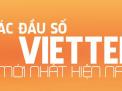 Những đầu số của nhà mạng Viettel năm 2019